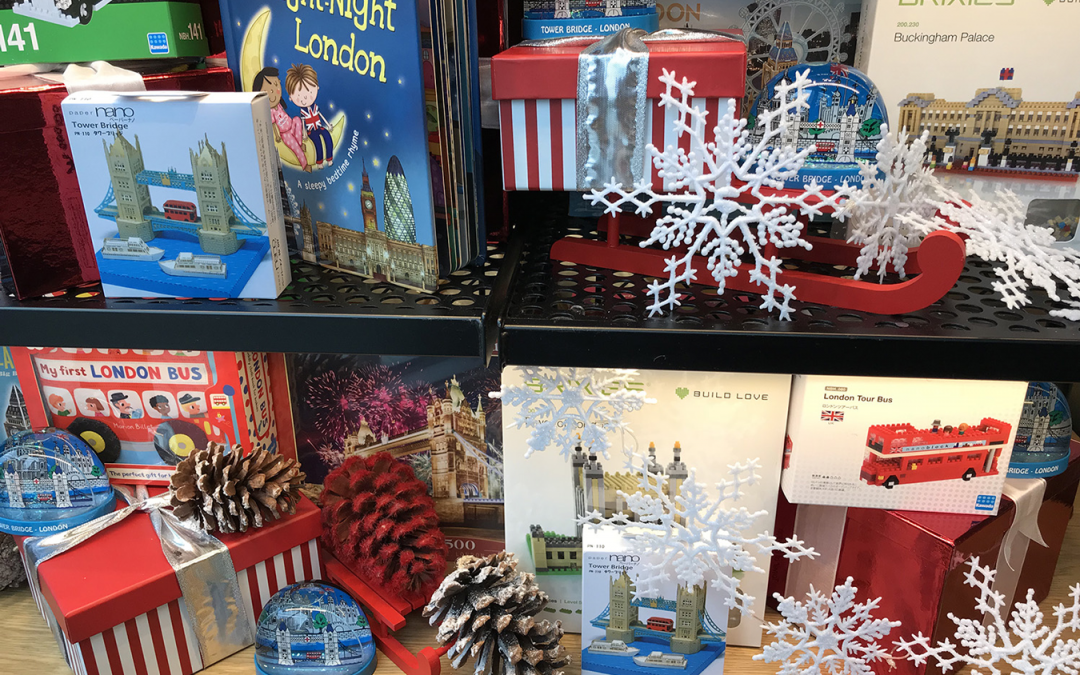Christmas Windows at Tower Bridge