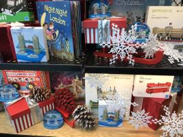 Christmas Windows at Tower Bridge