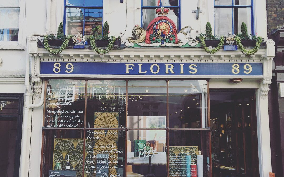 Window Dressing for Floris London