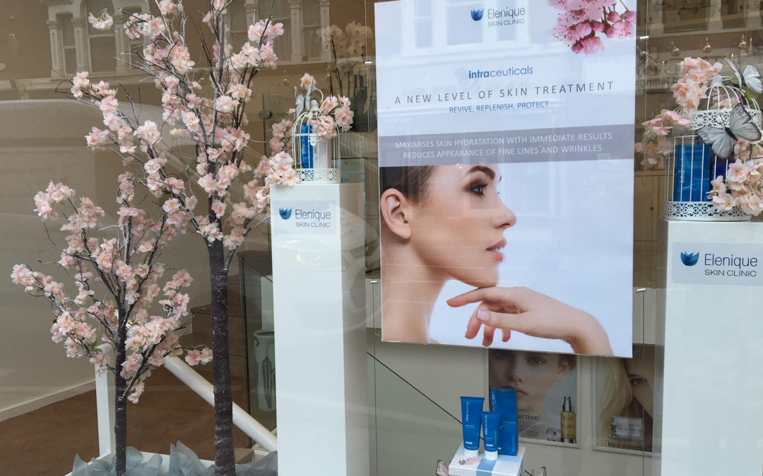 Launch of Spring Displays at Elenique Skin Clinic
