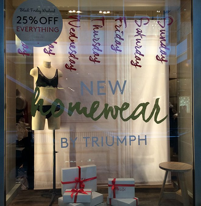 Christmas Windows for Triumph