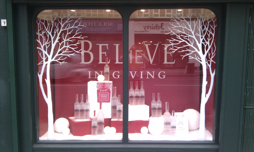 Belvedere Vodka Window – Old St London