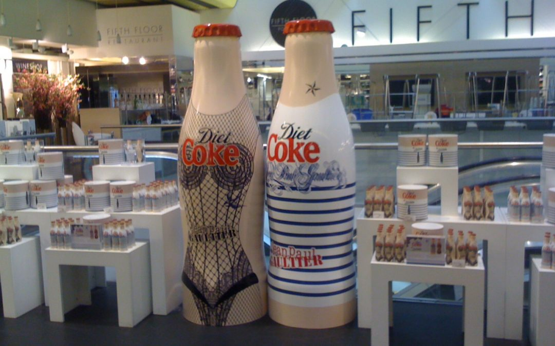 Harvey Nichols Diet Coke Promo