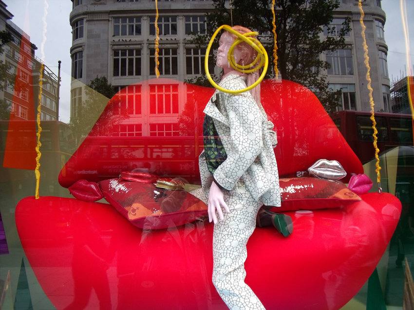 London Department Stores Windows