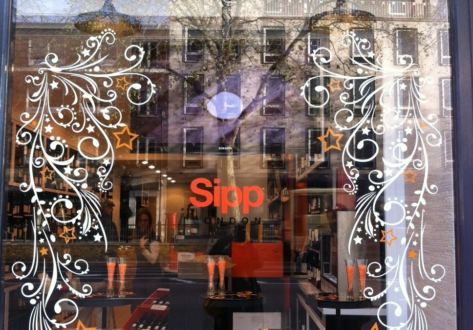 Christmas Windows at Sipp London
