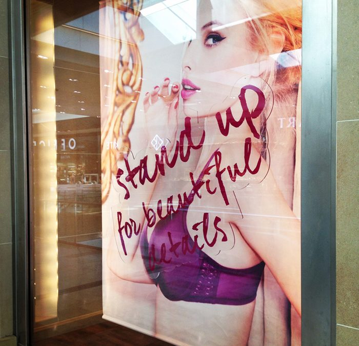 New Windows For Triumph Lingerie