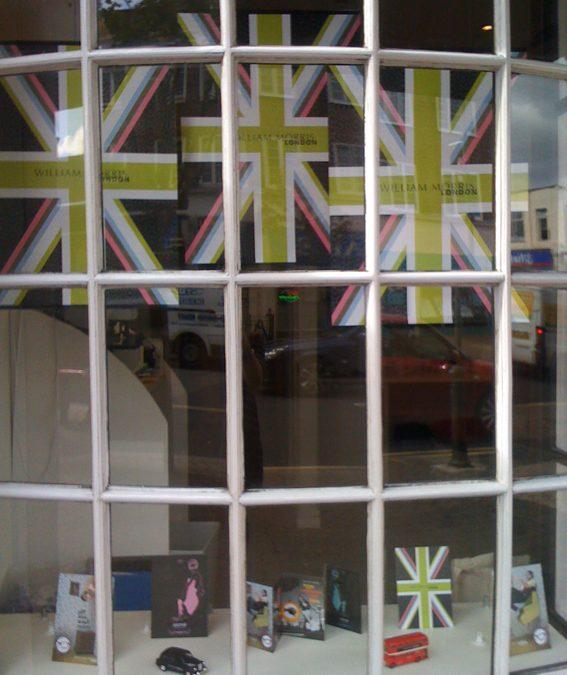 Window Dressing at Steven Harris Opticians
