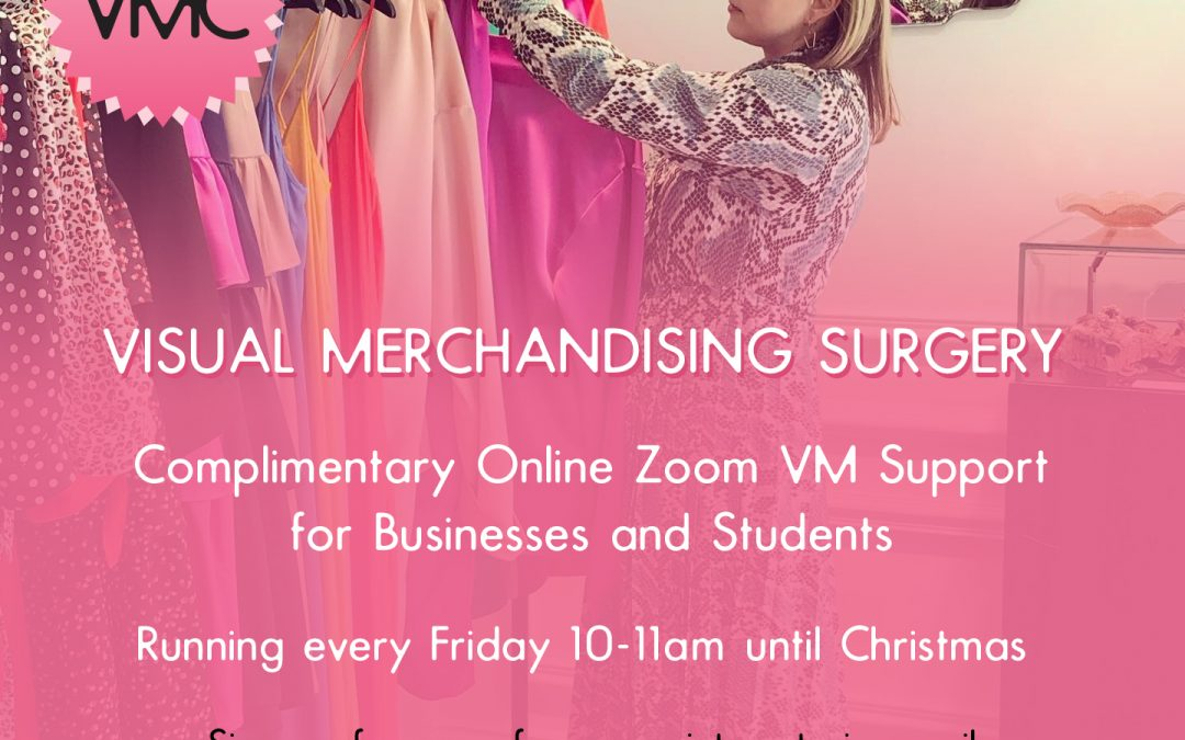 Visual Merchandising Surgery – Free VM support online